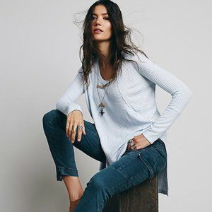 Free People Ventura Thermal in Light Blue